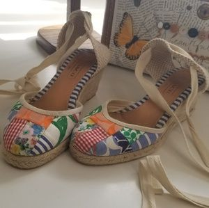Coach wedge espadrilles